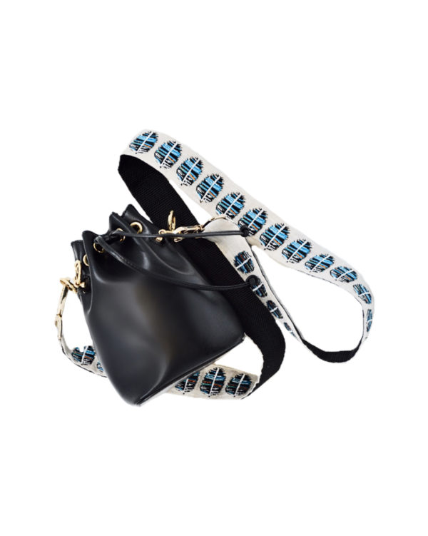 feather bag strap