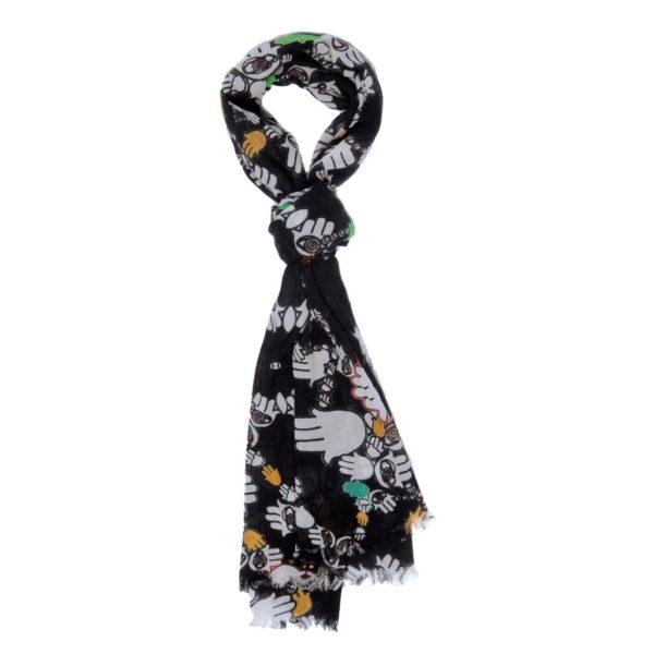 hamsa fever scarf by yazi