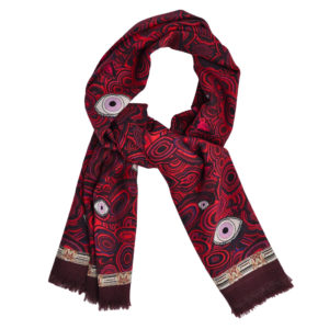 red eye scarf by yazi